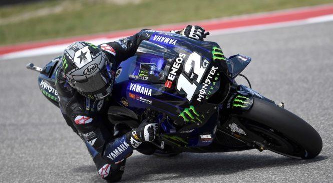 MotoGP: Vinales prepričljivo najhitrejši, Lorenzo in Marquez trčila