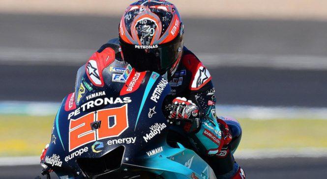 Quartararo z rekordom do najboljšega štartnega položaja v Jerezu