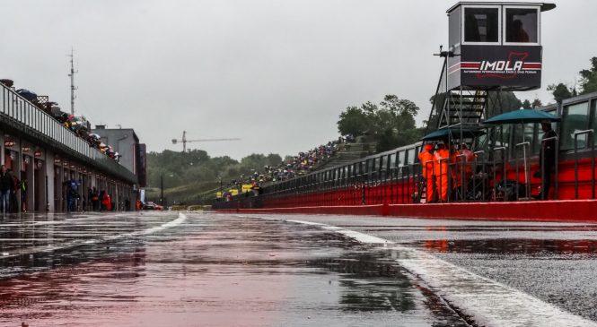 Dež odplaknil zadnjo dirko WSBK v Imoli
