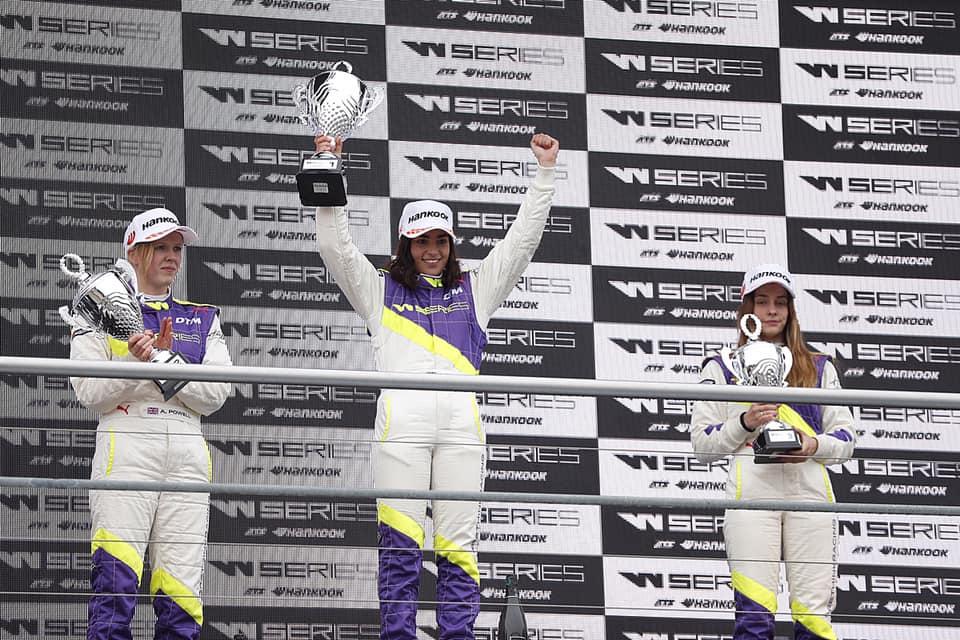 W Series: Zmagovalka prve dirke W Series je Jamie Chadwick
