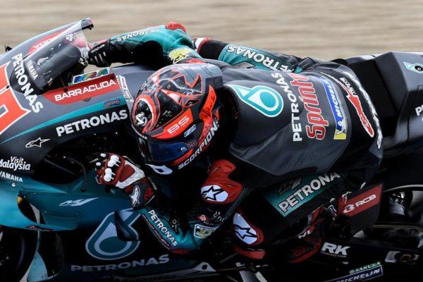 MotoGP: Fabio Quartararo je bil po dirki v Jerezu razočaran vendar vesel