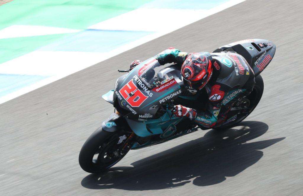 MotoGP Fabio Quartararo je na testiranjih v Jerezu postavil nov rekord kroga