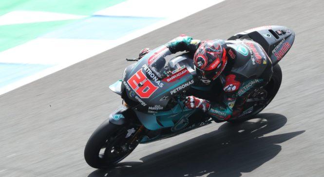 Quartararo na testiranjih podrl rekord kroga v Jerezu