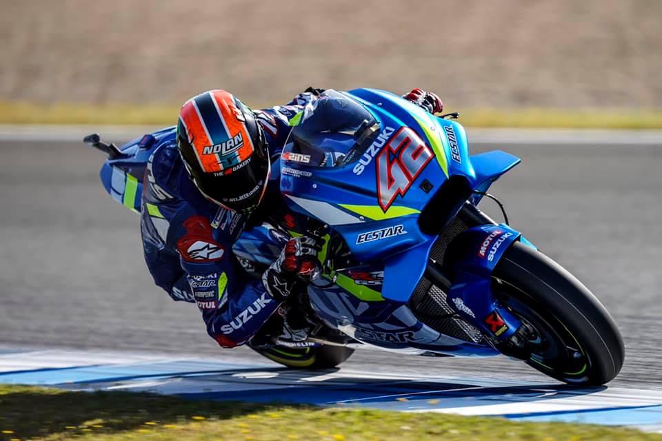 MotoGP: Alex Rins je vzhičen nad drugim mestom na domači dirki v Jerezu