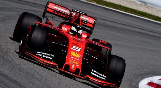 Vettel upa, da se tvegane nastavitve obnesejo na dirki