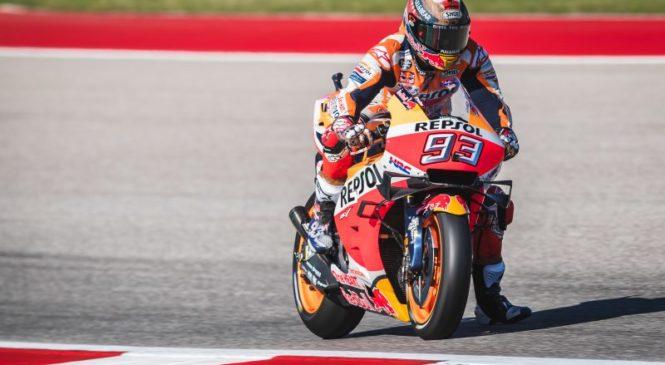 Marquez: Honda rešila težavo, ki je povzročila padec v Austinu