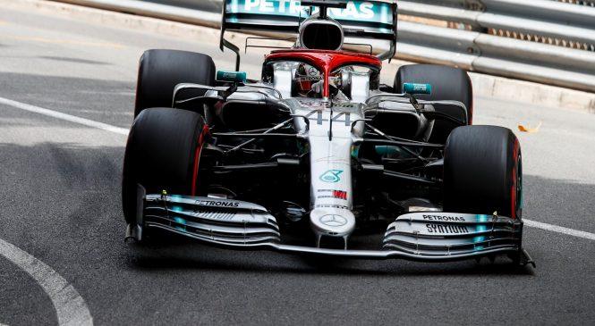 Hamiltonu zmaga na živčni dirki Monaka