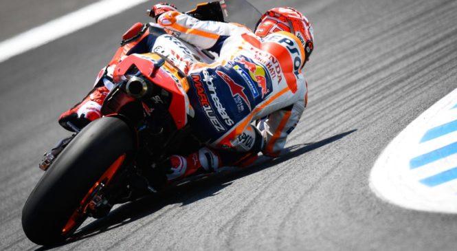 Marquez v Jerezu do prepričljive zmage, smola Quartararoja