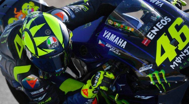 Rossi: Tovarniški motocikel zelo podoben pol-tovarniškima