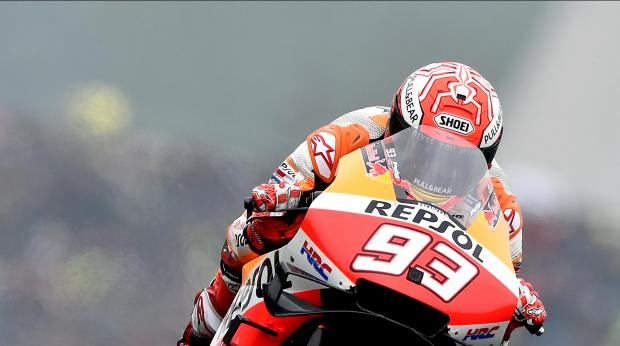 Marquez suvereno do zmage v Le Mansu