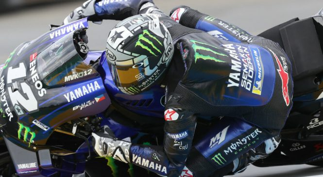 Vinales dobil tretji trening, Rossi v Q1