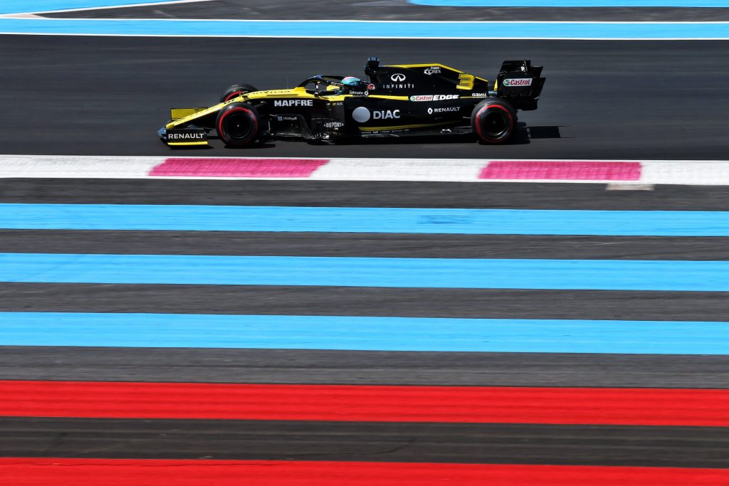 F1: Daniel Ricciardo (Renault) na stezi Paul Ricard 2019