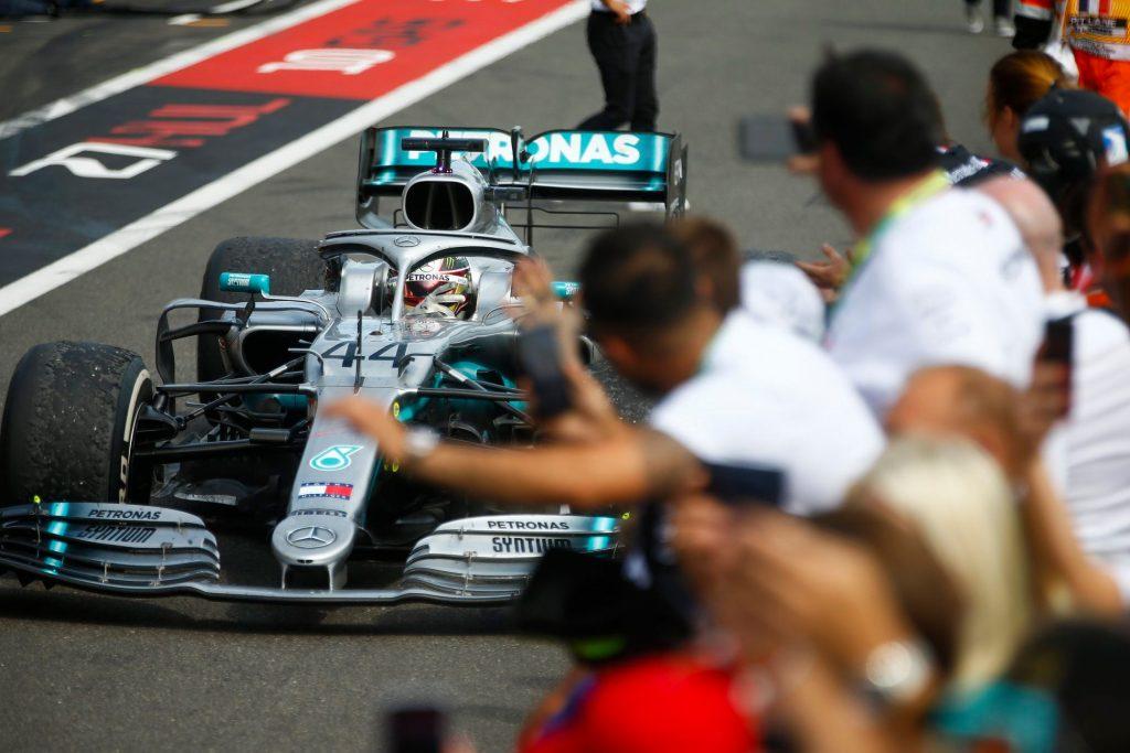 Lewis Hamilton je zmagal na VN Francije