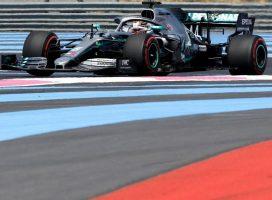 Hamilton dobil kvalifikacije v Franciji