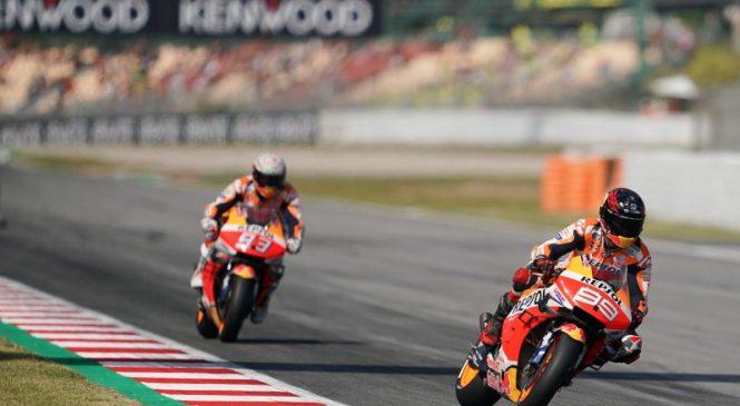 Nobenih zamer med Lorenzom in Marquezom po bližnjem srečanju na FP3