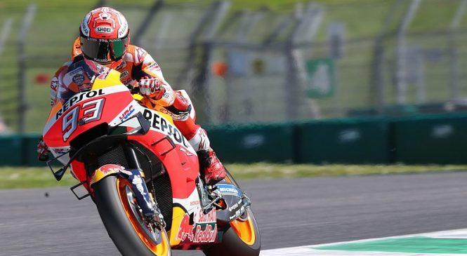 Marquez osvojil najboljši štartni položaj v Mugellu, Rossi z 18. mesta