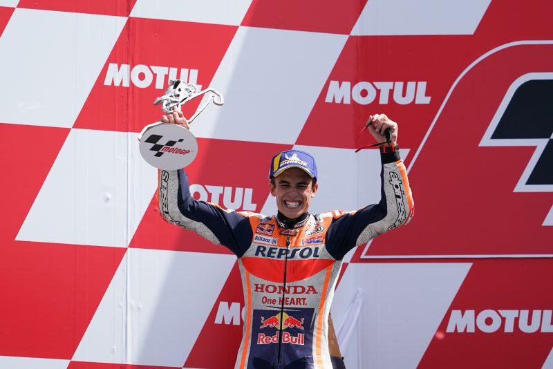 Marc Marquez na Sachsenringu slavil 10 zaporedno zmago v karieri