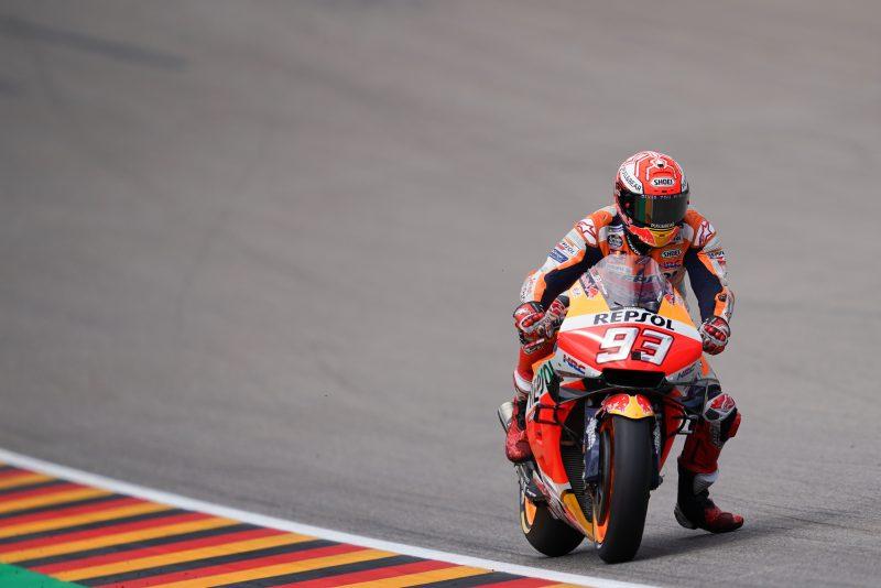 Marc Marquez Honda MotoGP sachsenring 2019 fp3