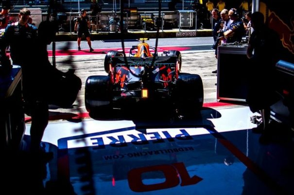 Pierre Gasly Red Bull Racing Silverstone 2019