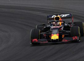 Verstappen je imel težave s turbino