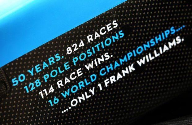50. let vodenja moštva Frank Williams
