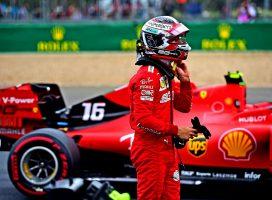 Leclerc upa, da bo na štartu ugnal oba Mercedesa