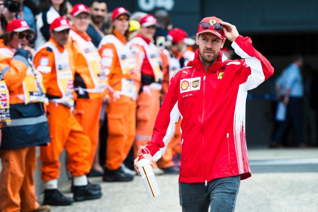 Sebastian Vettel Ferrari 2019 Formula 1