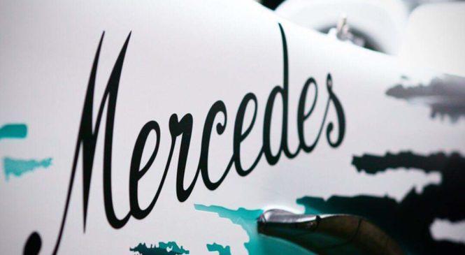 Mercedes v Nemčiji z jubilejno poslikavo