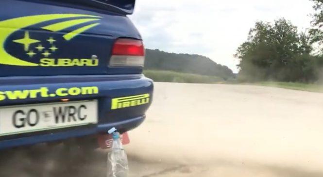 VIDEO: Slovenec v spletnem izzivu navdušil WRC sceno
