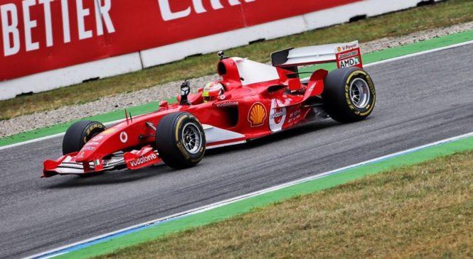 VIDEO: Mick Schumacher za volanom očetovega V10 Ferrarija F2004