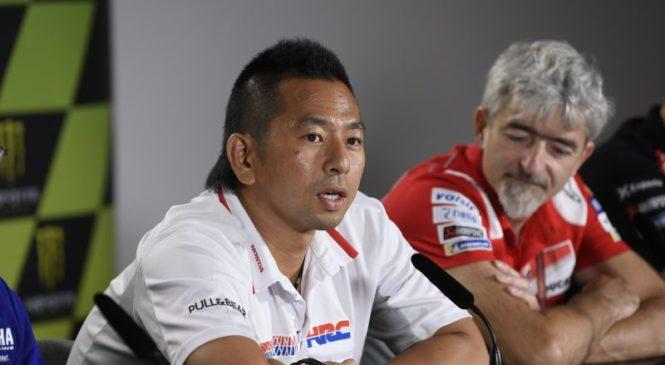 Honda: Marquez je naša prioriteta pri razvoju