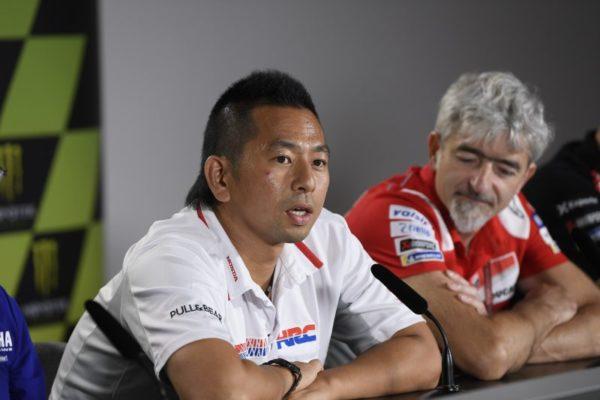 Takeo Yokoyama Honda HRC MotoGP