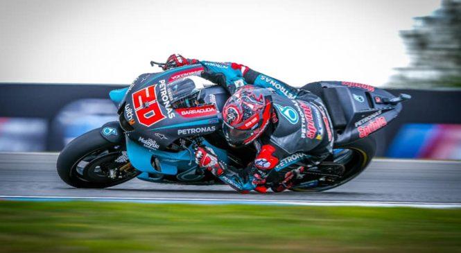 MotoGP: Tri Yamahe najhitrejše na testiranjih v Brnu