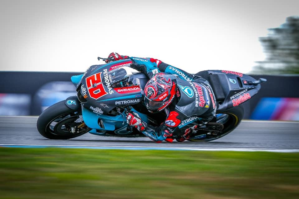Fabio Quartararo MotoGP Petronas Yamaha 2019 Brno test