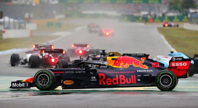 F1 Hungaroring: Na deževnem drugem treningu Gasly pred Verstappnom