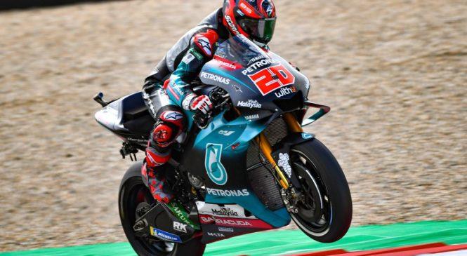 MotoGP Brno: Na drugem treningu Quartararo tik pred Marquezom