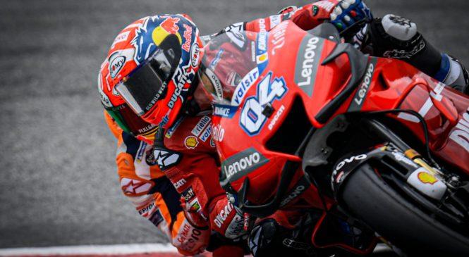 MotoGP Avstrija: Dovizioso v zadnjem ovinku mimo Marqueza do zmage
