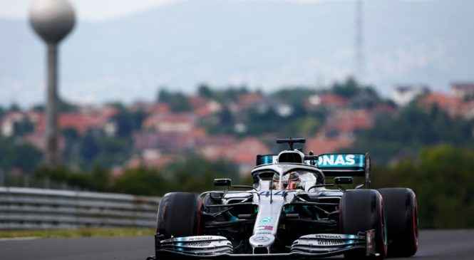 F1 Hungaroring: Hamilton na Hungaroringu slavil taktično zmago
