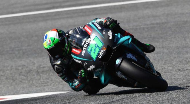MotoGP Avstrija: Morbidelli in Rossi najhitrejša na ogrevanjih