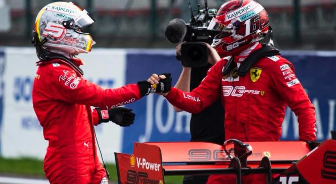 Vettel: Lahko sem le pomagal moštvu