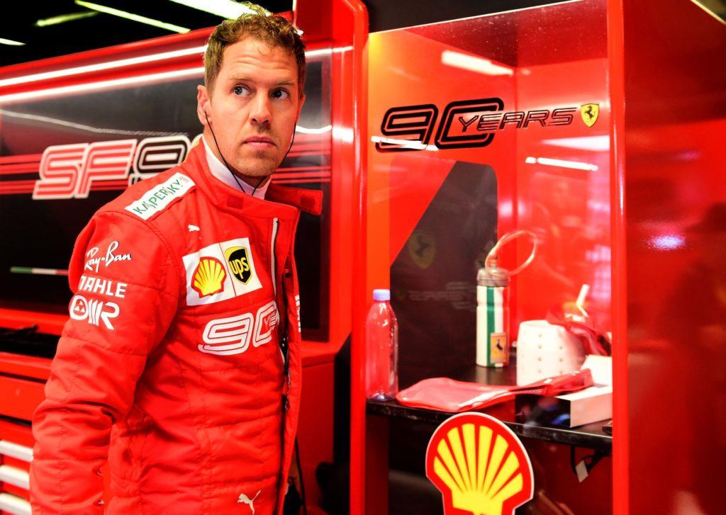 Sebastian Vettel je trepetal za svoje četrto štartno mesto v Monzi
