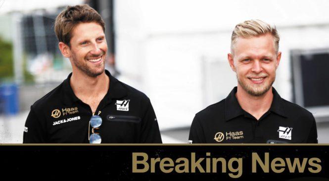 Haas potrdil dirkaško zasedbo za prihodnjo sezono