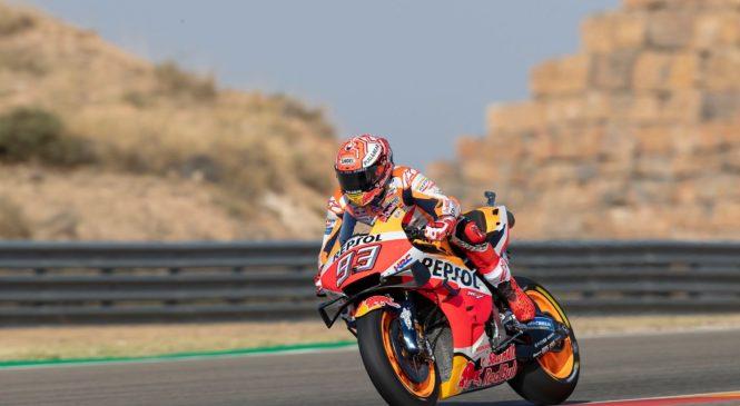 MotoGP Aragonija: Marquez najhitrejši po prvem dnevu