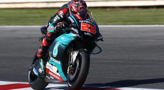 MotoGP Misano: Quartararo najhitrejši na tretjem treningu