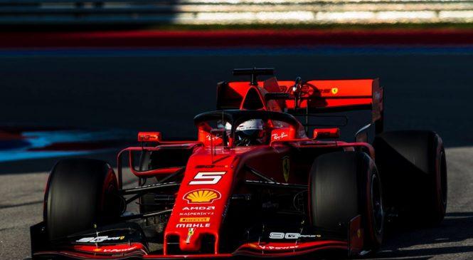 VIDEO: Vettel v Sočiju s tretjega mesta do vodstva
