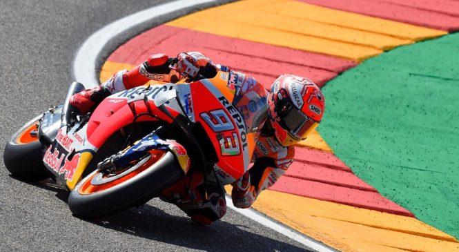 Marquez suvereno dobil dirko v Aragonu