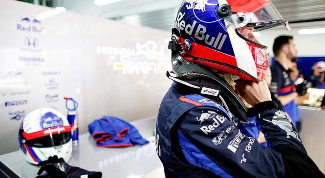 FIA Kvyatu prepovedala uporabo nove poslikave čelade za dirko v Rusiji