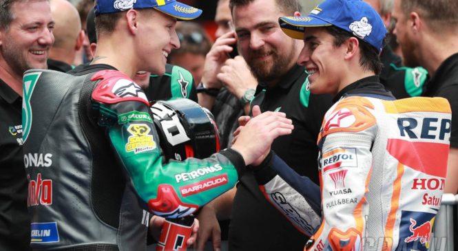 Marquez: Quartararo se bo v 2020 boril za naslov