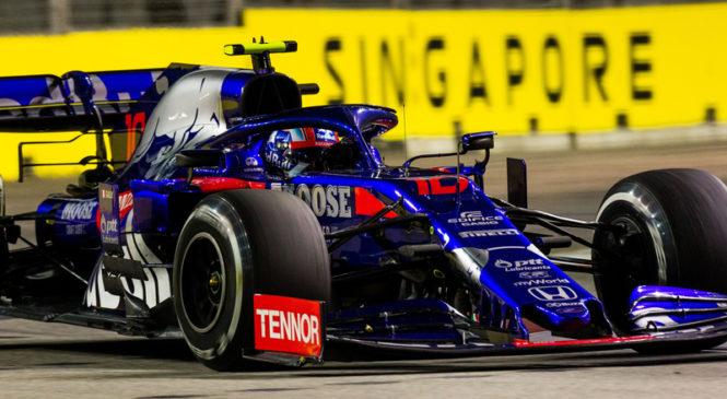 Toro Rosso v prihodnji sezoni AlphaTauri ?