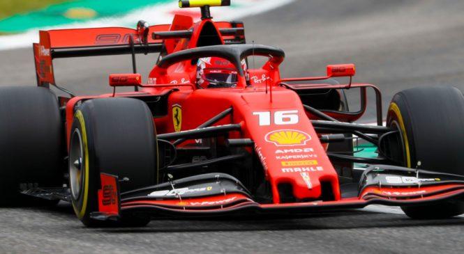 Leclerc dobil kvalifikacije v Monzi